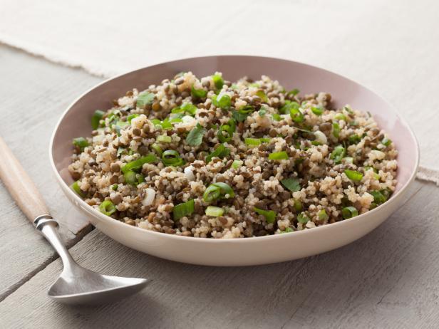 Lentil quinoa salad recipe melissa darabian food network lentil quinoa salad forumfinder Choice Image