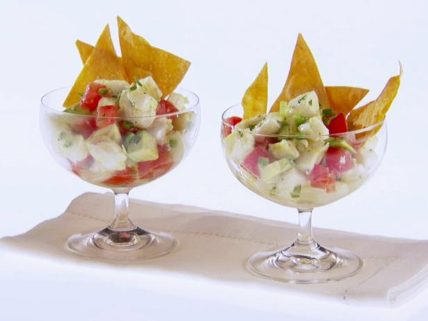 Halibut Ceviche Salad