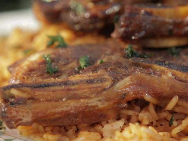 Seoul-ful Ribs with Rice