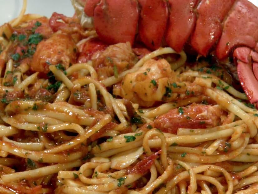 Has Santa Already Come or Is He on His Way? Try the Linguine in Lobster Sauce