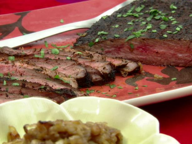 Giddy-Up Steak with Onion-Date Compote