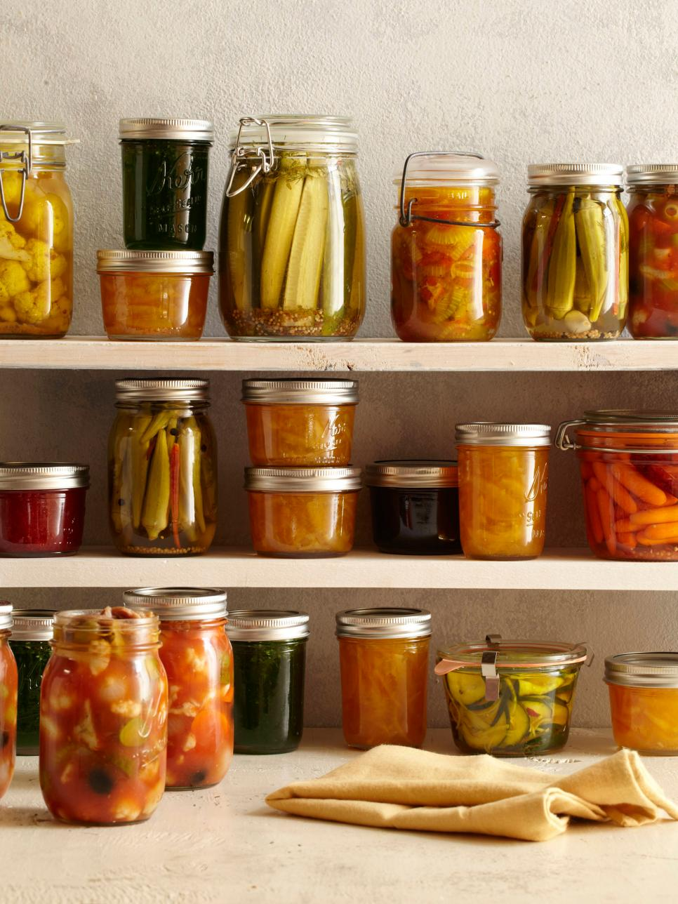 Canning Pickling And Preserving Tips And Ideas Food