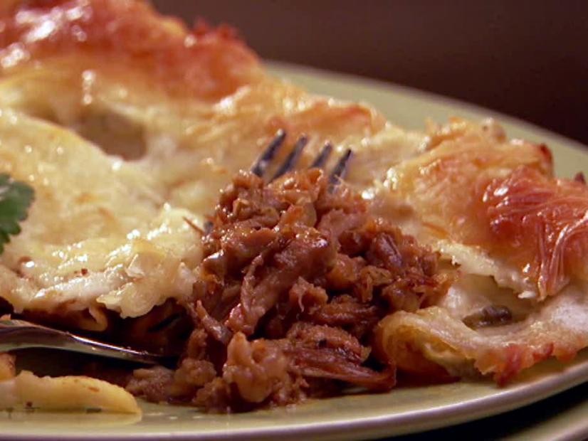 Cheesy Pork Enchiladas Recipe The Neelys Food Network