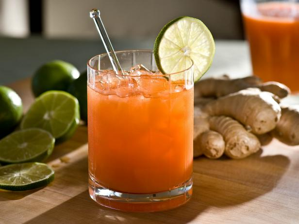 Ginger and Carrot Cocktail