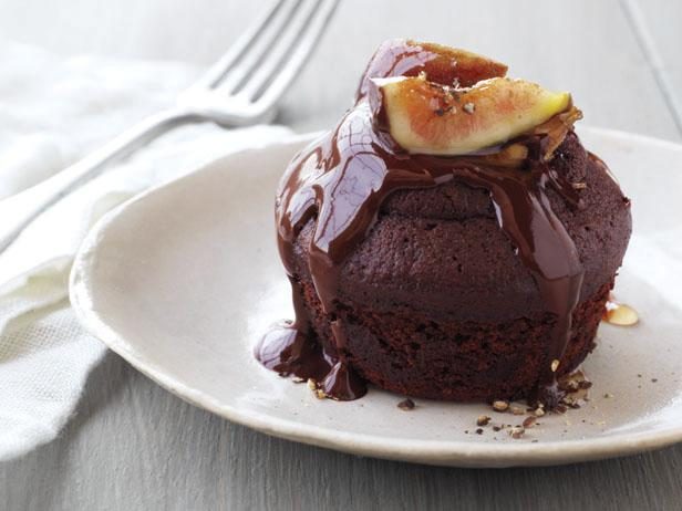 Chocolate and Olive Oil Fig Cakes