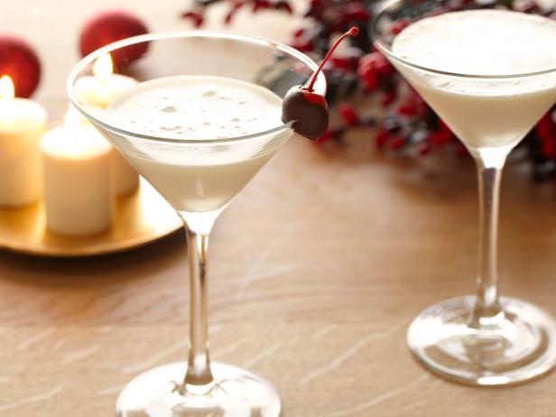 White Chocolate Cherry Martini