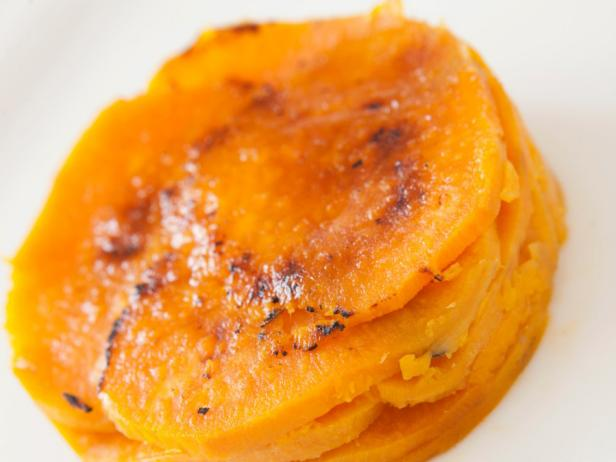 Sweet Potatoes with Ancho Chile Butter