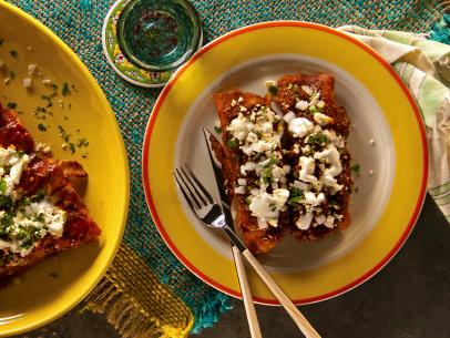 Green Chile Chicken Enchiladas Food Network