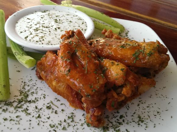 On The Road Eats Best Game Day Wings Food Network Food Network