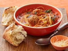 Food Network Rachael Ray  Minute Meals Spaghetti And Meatballs