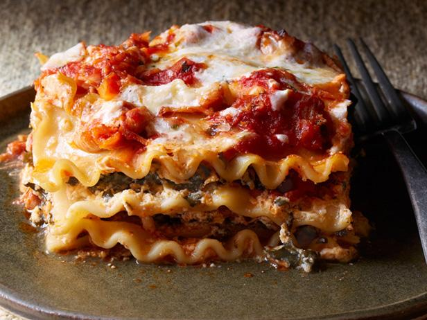 Four Cheese-Chicken Lasagna