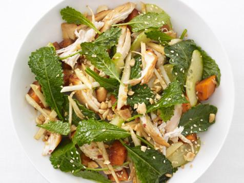Kale-Sesame Chicken Salad