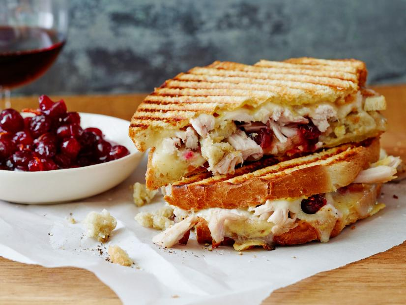 Leftover Thanksgiving Panini Recipe Ree Drummond Food Network