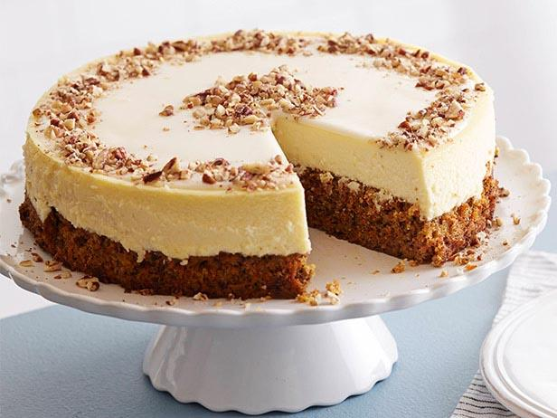 Carrot CakeCheesecake Recipe Food Network Kitchen Food Network