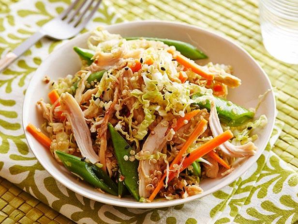 Asian chicken and quinoa salad recipe food network kitchen food asian chicken and quinoa salad forumfinder Images