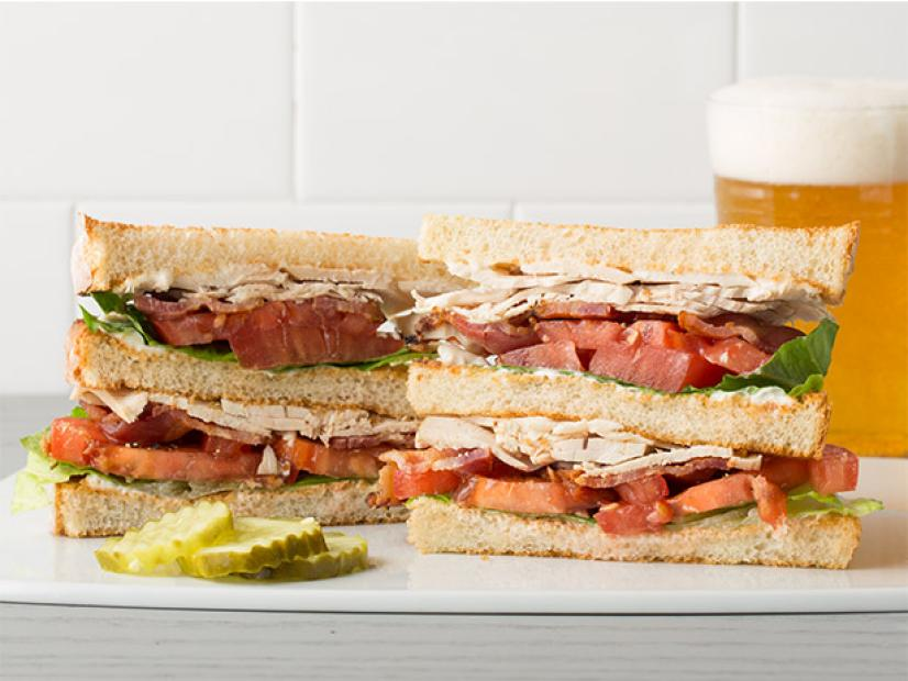 Classic Club Sandwich Recipe Food Network Kitchen Food Network