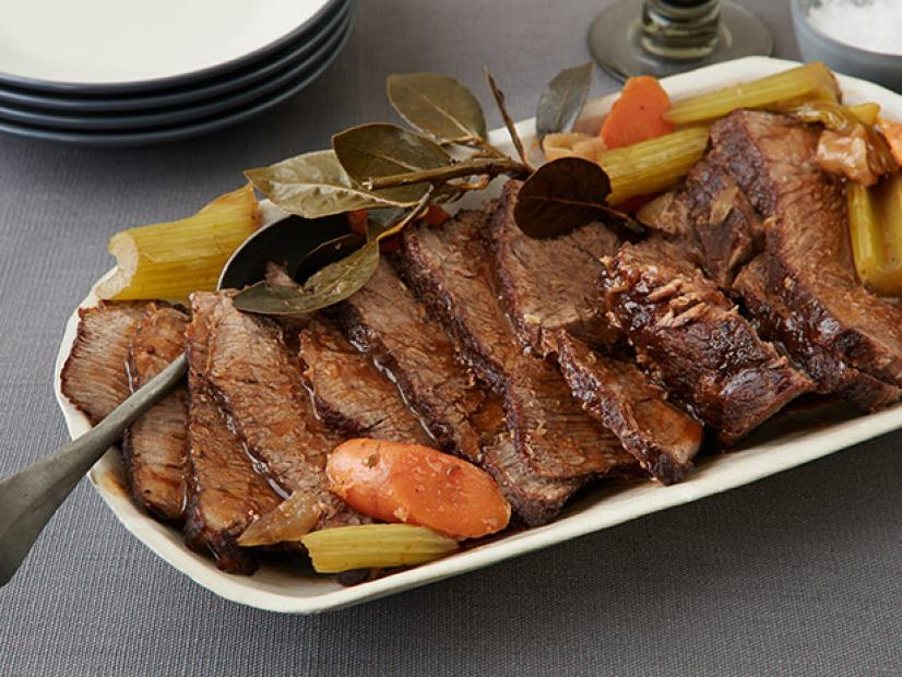 Slow Cooker Pot Roast Recipe Food Network Kitchen Food Network