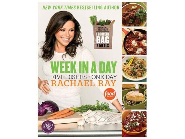 Enter for a Chance to Win Rachael's Week in a Day Cookbook