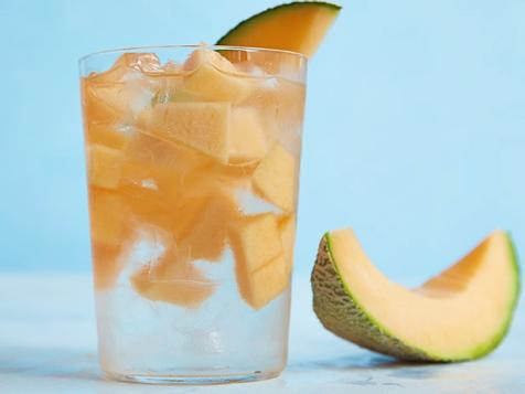 Cantaloupe-Infused Water