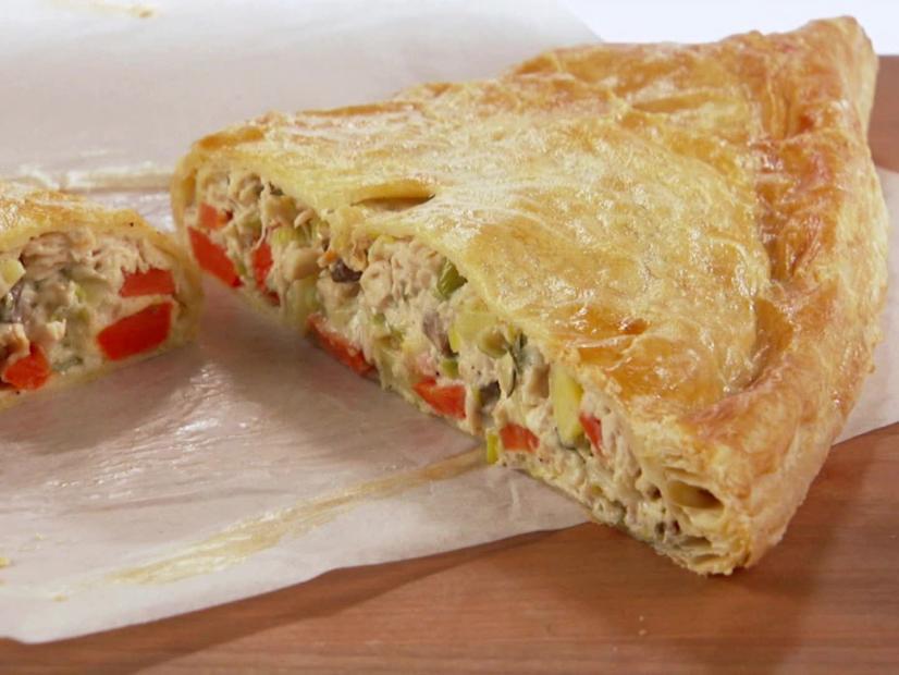 Chicken And Leek Cornish Turnover Recipe Giada De Laurentiis