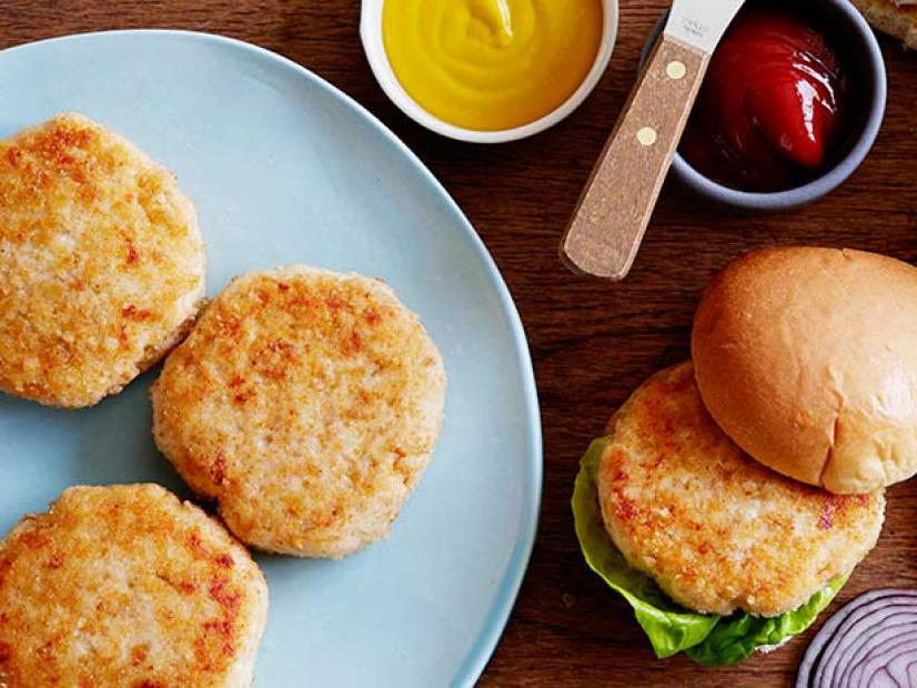 Chicken Burgers Recipe Food Network