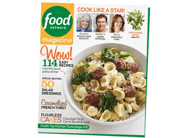 Food Network Magazine April Cover