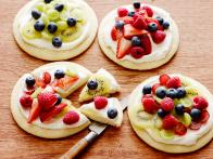 Individual Fruit Pizzas