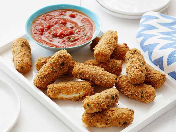 Crispy Mozzarella Sticks - Most Popular Pin of the Week