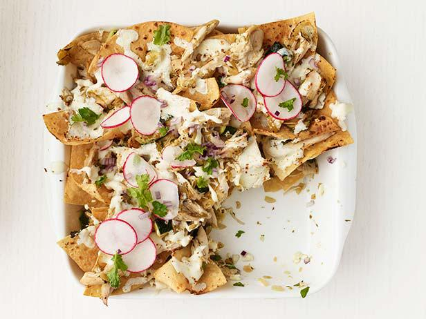 Chicken-Zucchini Chilaquiles