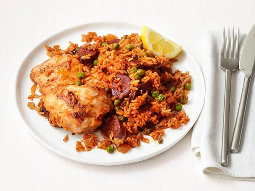 Chicken And Chorizo Rice Recipe Food Network Kitchen Food Network