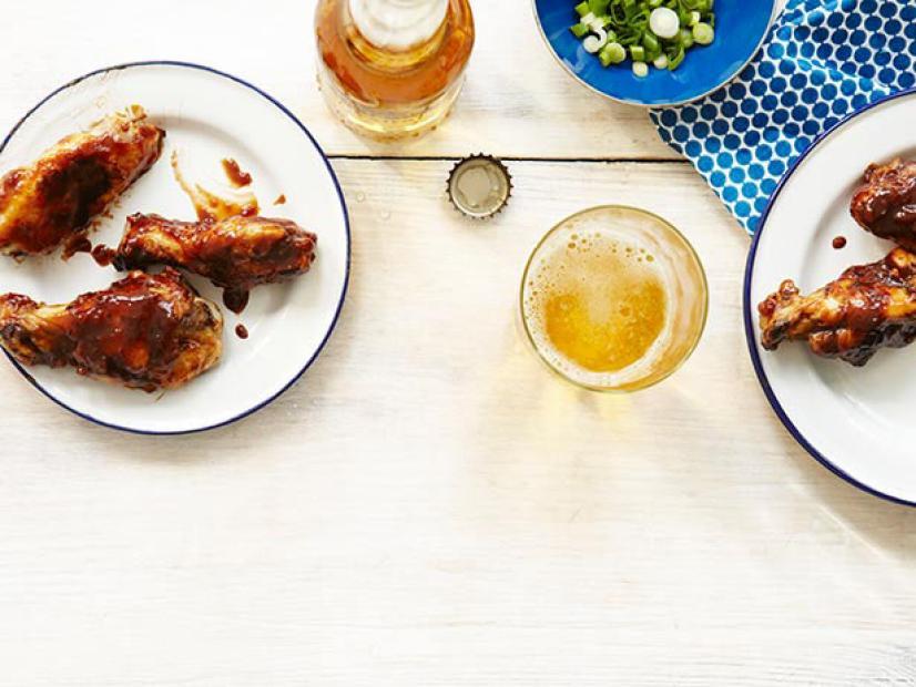 Smoked Jerk Chicken Wings With Spicy Honey Tamarind Glaze Recipe