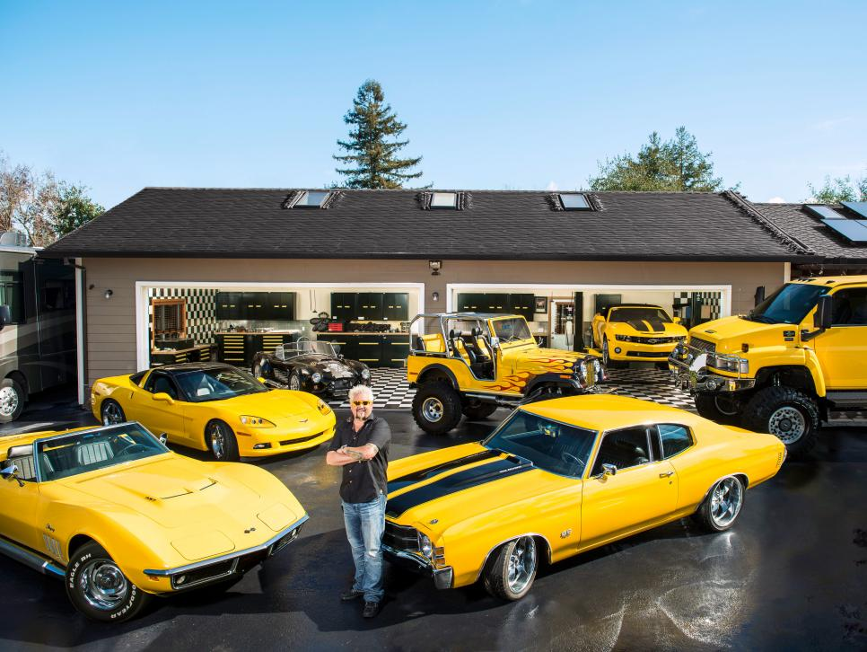 Guy Fieri\'s Car Collection | Food Network