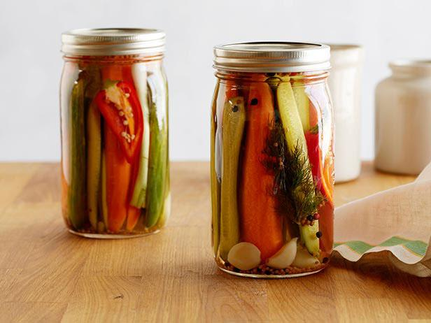 Fresh Refrigerator Pickles: Cauliflower, Carrots, Cukes, You Name It