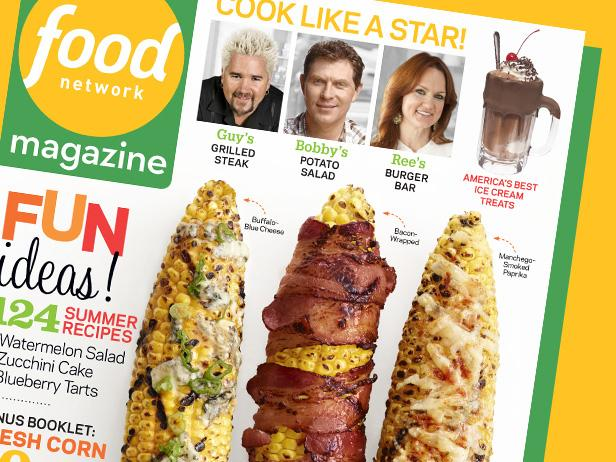 Food Network Magazine: July/August 2013 Recipe Index
