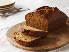 Bake this spiced Pumpkin Bread recipe, filled with nutmeg, cinnamon and cloves, from Food Network Kitchen — it's like a pumpkin pie in loaf form.