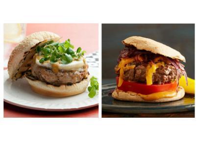 Food Fight Turkey Burger Vs Beef Burger Food Network