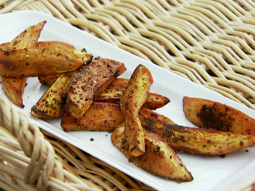 Baked Sweet Potato Fries With La Boite Spice Mix Recipe Ina