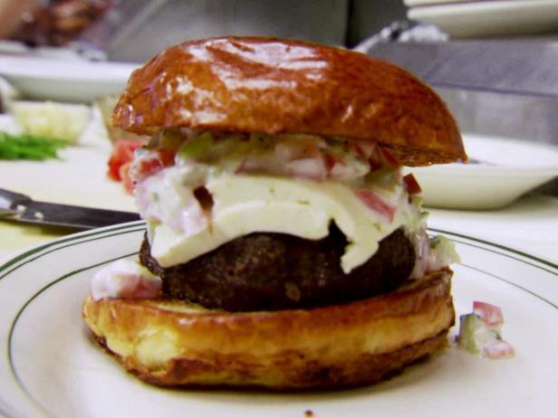 Lamb Burger Recipe Robert Irvine Food Network