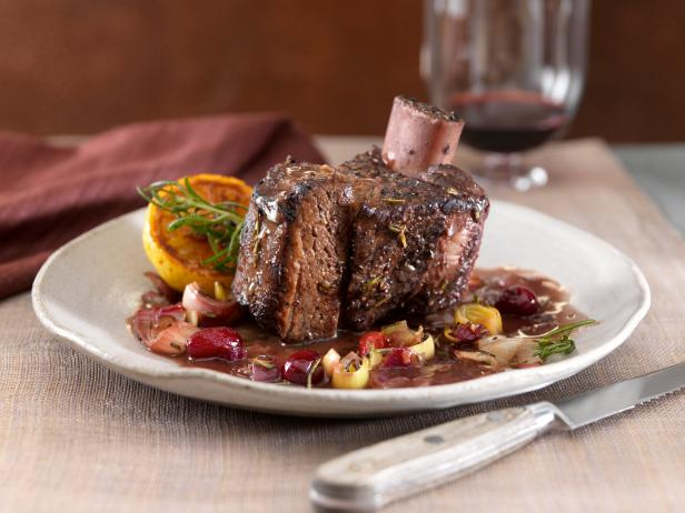 Merlot Bison Short Ribs