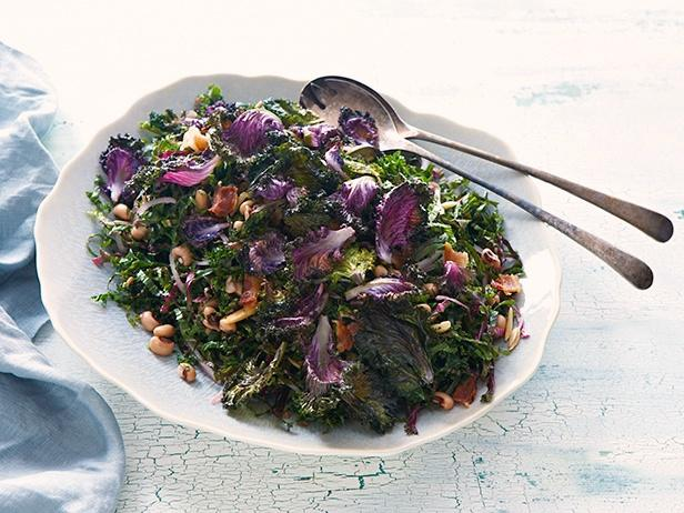 Roasted Redbor Kale Salad