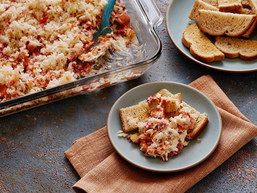 five layer reuben dip recipe food network kitchen food network