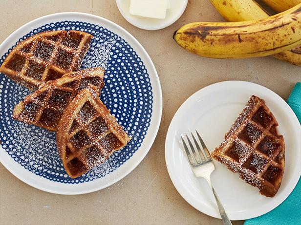 Waffled banana bread recipe food network kitchen food network waffled banana bread forumfinder Image collections