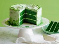 St. Patrick's Day Green Velvet Layer Cake