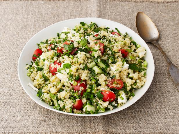 Quinoa recipes food network food network quinoa tabbouleh with feta forumfinder Images