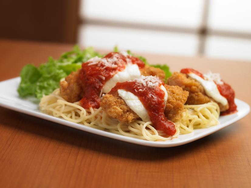 Crispy Chicken Parmesan Recipe Food Network