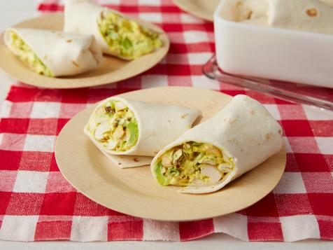 Curried Chicken Wraps