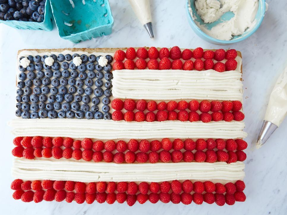 American Flag Cake Ina Garten