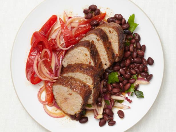 Cumin Pork with Beans