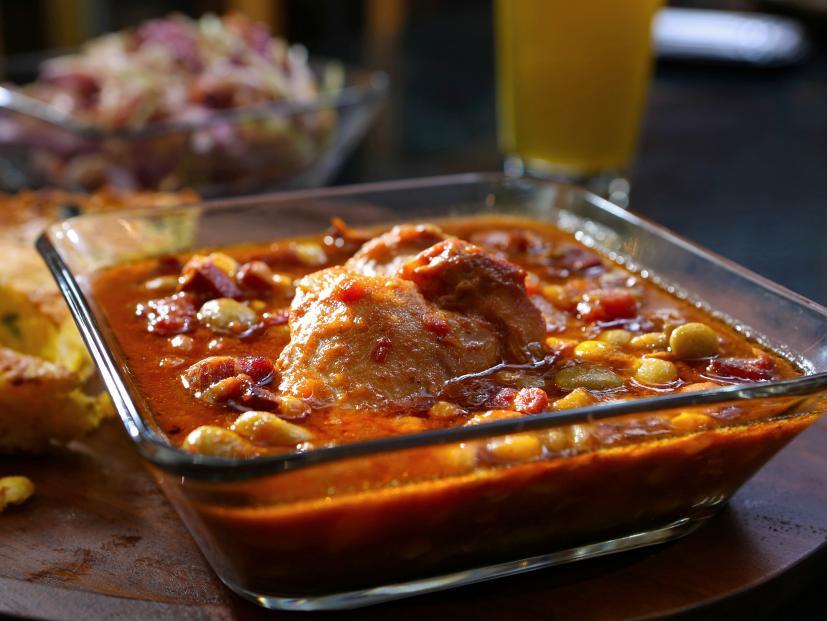 Smoky Chicken Brunswick Stew Recipe Guy Fieri Food Network