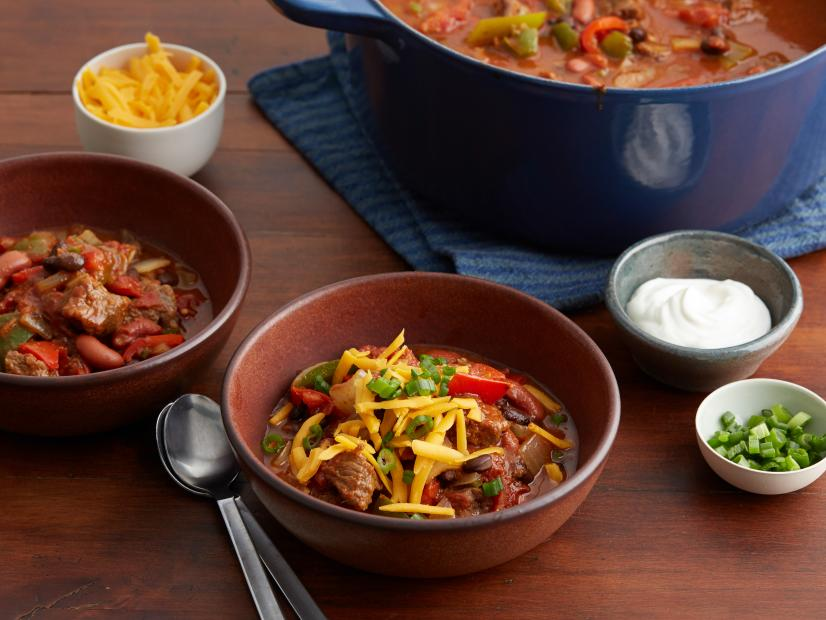Hearty Sirloin Chili Recipe Food Network Kitchen Food Network